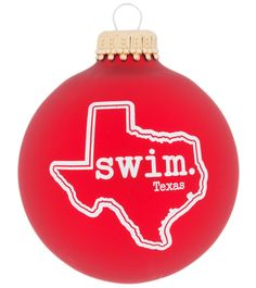 Bay Six Texas State Swim Ornament at SwimOutlet.com