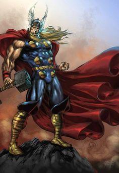 Comic Book Artwork • Thor