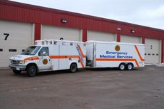 Sault Ste. Marie Fire Services (ON): Ambulance and Medical Supply Trailer
