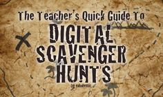 digital scavenger hunt