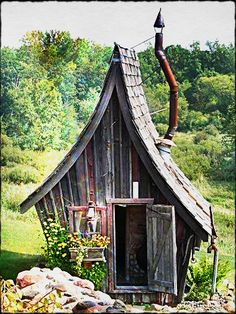 kleine zimmerrenovierung hutte idee schrebergarten, 233 besten gartenhütten & gewächshäuser etc. bilder auf pinterest, Innenarchitektur