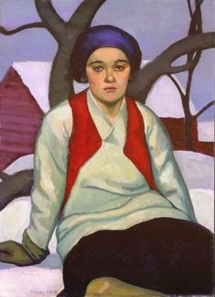 Prudence Heward (July 1896 – March 1947 was a Canadian painter. Born Efa Prudence Heward in Montreal, Quebec, Canada into a . Female Portrait, Portrait Art, Female Art, Portrait Paintings, Canadian Painters, Canadian Artists, Beaver Hall, Art Inuit, Female Painters