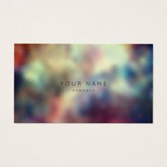 #Ombre Glass Teal Been Navy Red Appointment Business Card - #personalize #chic