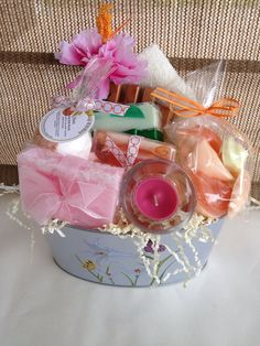 Tropical Collection Gift basket handcrafted by SeasideSoapKitchen, $29.95