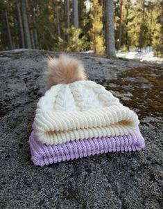 The Cushy beanie – Nurjia silmukoita Beanies, Knit Crochet, Winter Hats, Knitting, Beanie Hats, Tricot, Cast On Knitting, Crochet, Beanie