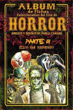 Tarjetas del cine de terror. P3