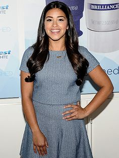 Gina Rodriguez, the star of Jane the Virgin, has some of the shiniest hair and whitest teeth we've ever seen (perhaps that's why she's a spokeswoman for Crest). And while it's easy to get caught up in her sparkling...