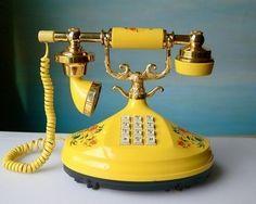 Ретро-телефон с: