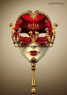 Carnevale Restaurant mask