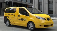 """""""Taxi of Tommorow"""" NV200 (NISSAN)"""