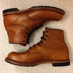 red wing heritage beckman 9013 chestnut featherstone