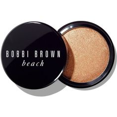 Bobbi Brown Beach Shimmer Powder for Medium to Dark Skin (175 RON) ❤ liked on Polyvore featuring beauty products, makeup, face makeup, face powder, beauty, medium to dark, bobbi brown cosmetics and compact face powder
