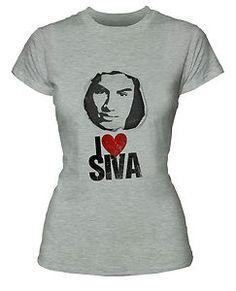 The Wanted Siva Kaneswaran T-shirt - white & grey girls sizes S, M, L, XL, XXL | eBay