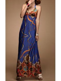 Art Deco Maxi Dress