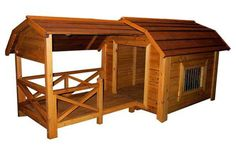 A barn for your dogs!!! all U need is a house warming party
