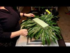 How to make a graveside saddle arrangement - I am Gina Casket Flowers, Grave Flowers, Cemetery Flowers, Diy Flowers, Cemetary Decorations, Memorial Day Decorations, Flower Wreath Funeral, Funeral Flowers, Diy Flower Arrangements For Funeral
