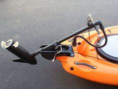 diy trolling motor mount for kayak - Buscar con Google