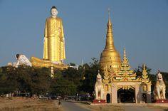 Monywa, Mandalay, Myanmar, Burma, giant Buddha