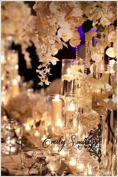 Pearl decor for pearl anniversary Chic Wedding, Wedding Events, Dream Wedding, Weddings, Romantic Candles, Best Candles, Pearl Anniversary, Anniversary Ideas, Wedding Decorations