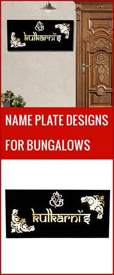 8 名牌 Ideas Name Plate Design Name Plates For Home Name Plate