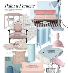 Keep your eyes peeled for our Classic looking gorgeous in this month's Thank you Serenity Color, Perfect Pink, Color Of The Year, Design Consultant, Looking Gorgeous, Interior Design Inspiration, Radiators, Pantone, Pink And Green