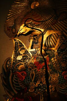 Setia Darma House of Puppets and Masks Kemenuh, Bali Kebyar Cahyaning Batara Surya Farmhouse Pendant Lighting, Diy Pendant Light, Hippie Painting, Batik Art, Bali Fashion, Javanese, Thai Art, Shadow Art, Shadow Puppets