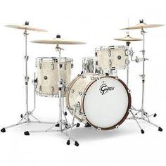 Gretsch Renown Drum Set : 3pc 18/12/14 Vintage Pearl - RN2-J483-VP