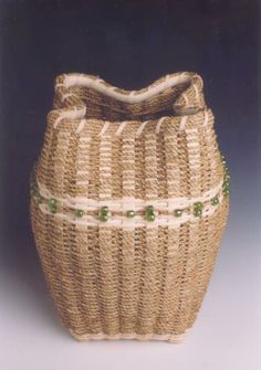 Sculptural Seagrass Basket - Learn from Dianne Stanton at the 2014 Stowe Basketry Festival!