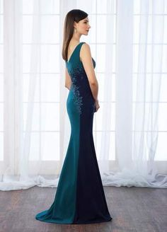 Cameron Blake 217651 Best Bridal, Prom, and Pageant gowns in Delaware Country Bride And Gent, Cheap Dresses, Nice Dresses, Cameron Blake, Mother Of The Bride Gown, Column Dress, Pageant Gowns, Necklines For Dresses, Formal Gowns