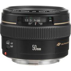 Canon EF 50mm f/1.4 USM Lens - lens that Sandra Beijer uses