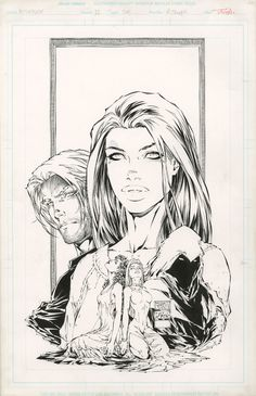 Witchblade #12 cover   Michael Turner