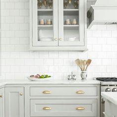 Kitchen goals. Cabinets, pulls, color, tile