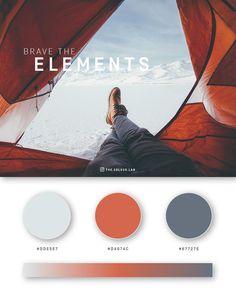 37 Beautiful Color Palettes For Your Next Design Project Flat Color Palette, Color Schemes Colour Palettes, Colour Pallette, Blue Palette, Web Colors, Design Graphique, Nature Images, Color Theory, Pantone Color