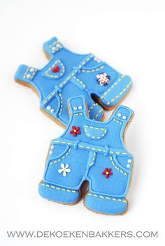 cute overall cookies