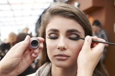 """""""The 'rock 'n roll' vision for the look at Rachel Zoe is derived directly from Rachel herself,"""" said makeup artist Charlotte Tilbury. """"It's 60s-70s sexy - reminiscent of Marianne Faithfull - meets the fresh, contemporary girl of today."""""""