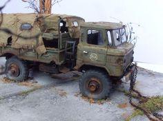 GaZ-66 1/35 Scale Model Diorama