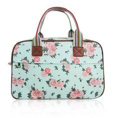 Blossom Flower Weekendtas Turquoise Pink Bags, Kate Spade, Vintage, Fashion, Moda, Fashion Styles, Fashion Illustrations, Pink Handbags