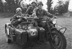 BMW R75 Motorrad 750cc. 1. SS-Division Liebstandarte
