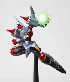 Get it at Kirin Hobby! (UPC/EAN: 4537807010049) Revoltech No.070 Gurren Lagann: Arch (Arc) Gurren Lagann [Action Figure] by Kaiyodo