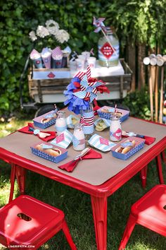 Celebrate July 4 with Kids Table Printables from MichaelsMakers Lia Griffith