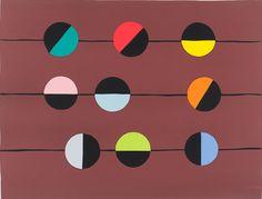 Ernst Mether-Borgström: Antilooppi, ruskea, 1974, serigrafia, 46x60,5 cm - Galleria Bronda 2016