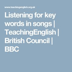 For that songs for teaching esl teens can