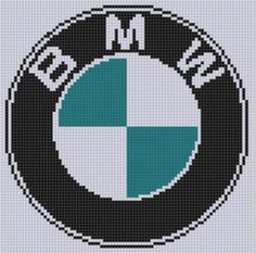 (10) Name: 'Embroidery : BMW Cross Stitch Pattern: