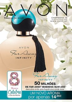 Our newest addition to our line of perfumes. Far Away Infinity. Coming soon. Visit my online store @ www.youravon.com/amartinez8866