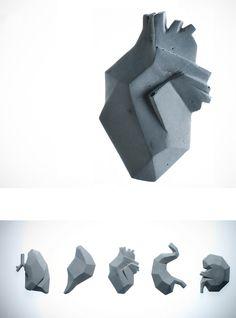 Órganos de Concreto … Cement Art, Concrete Cement, Cement Crafts, Concrete Projects, Concrete Design, Cardboard Sculpture, Sculpture Art, Metal Walls, Metal Wall Art