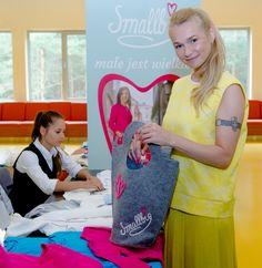 Ewa Pacuła w showroomie Smallbig