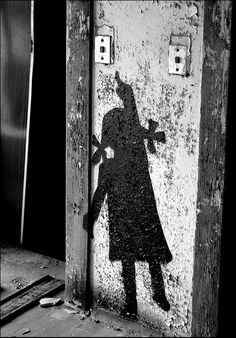 Black & white ( street art / graffiti ) http://www.facebook.com/pages/Art-of-street/144938735644793?ref=ts=ts