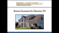 For affordable renters insurance in Houston, TX, consider Eaves & Associates, LLC. The agents evaluate your needs and help you choose from renters insurance policies offered by various insurance carriers in Houston. To know more about renters insurance provided by the agency, visit : http://www.houstoncarautohomelifeinsurance.com