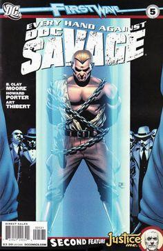 Image - Doc Savage Vol 3 5 Variant.jpg - DC Comics Database