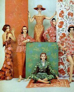 1950's fashion, photographer Francesco Scavullo
